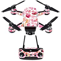 Skin for DJI Spark Mini Drone Combo - Pink Petals| MightySkins Protective, Durable, and Unique Vinyl Decal wrap cover | Easy To Apply, Remove, and Change Styles | Made in the USA
