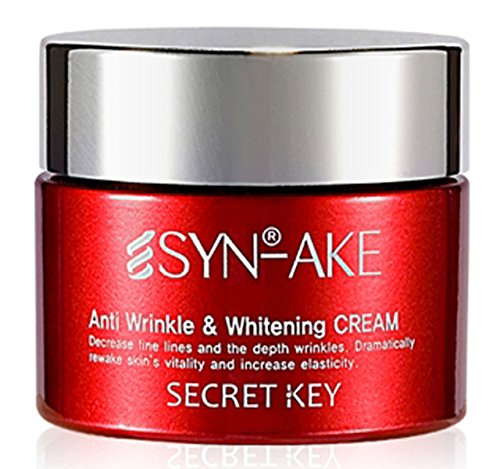 Secret Key SYN-AKE Anti Wrinkle Whitening Cream, 50 Gram