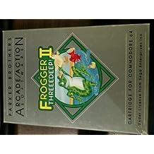 Frogger II: Threeedeep! - Commodore 64