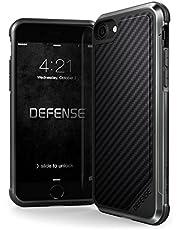 iPhone X Case X-doria Carbon Fiber Leather Ballistic Nylon Aluminum Bumper Defense Lux Military Grade Case for iPhone X