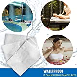 AQUEENLY 20PCS Spa Bed Sheets Disposable Massage