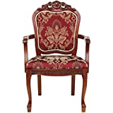 Design Toscano Crown Hill Baroque Chair, 42-Inch