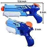 HITOP Water Guns for Kids, 2 Pack Super Squirt Guns