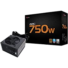 Rosewill Gaming Power Supply, Arc Series 750 Watt (750W) 80 PLUS Bronze Certified PSU with Silent 120mm Fan and Auto Fan Speed Control, 3 Year Warranty - ARC750