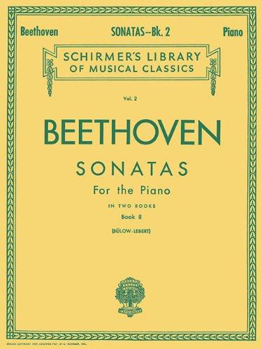Sonatas - Book 2 Schirmer Library of Classics Volume 2 Piano Solo (Schirmers Library of Musical Classics) (Tapa Blanda)