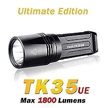 Fenix TK35 UE Cree MT-G2 1800 lumens 6-Mode LED Flashlight 2x18650