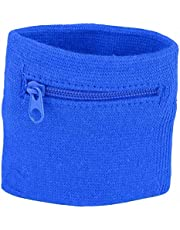 Deror Portemonnee Polsband,Unisex Polsband Coin Keys Opslag Rits Pocket Sport Pols Portemonnee Gym Running Basketbal