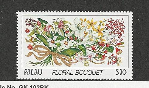Flowers Stamps Mint - Palau, Postage Stamp, 142 Mint NH, 1988 Flowers, DKZ