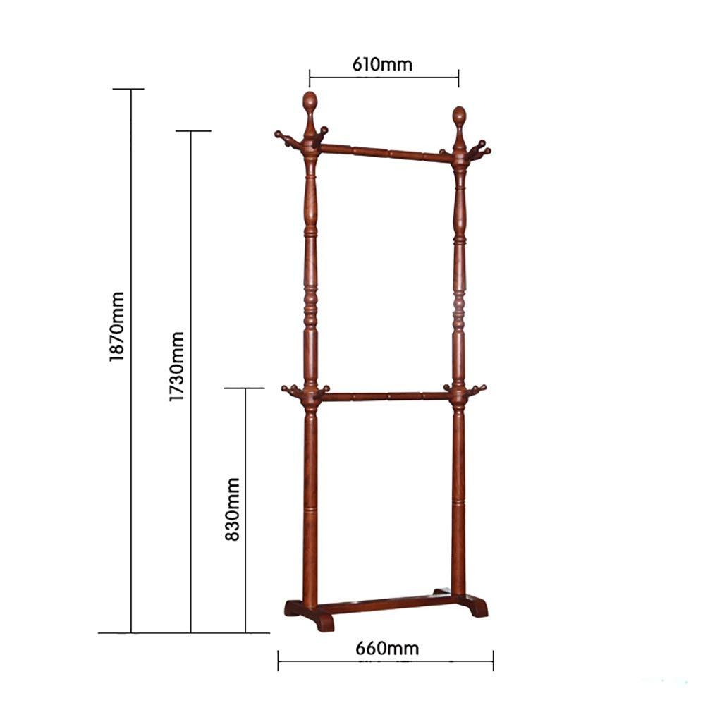 Amazon.com: Gaoye - Perchero de madera maciza para ...