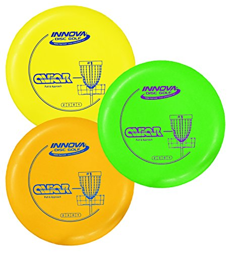 Innova DX Aviar Putt and Approach Disc Golf Putter Practice Pack of 3 - Golf Putter Disc