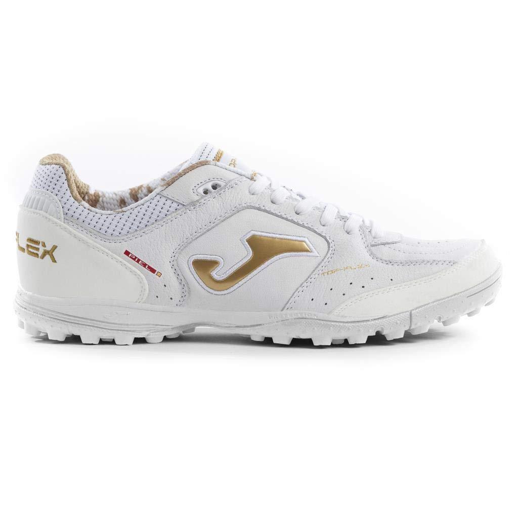 JOMA SPORT , Chaussures pour Homme spécial Foot en Salle Blanc blanc or