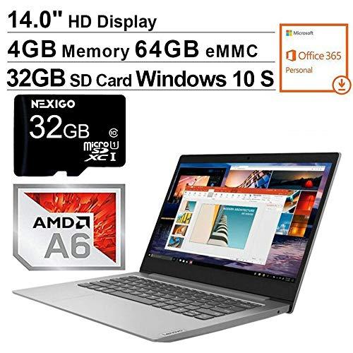 🥇 Portátil Lenovo IdeaPad 2020 de 14 pulgadas | AMD A6-9220e hasta 2