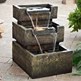 Backyard Furniture Cant Go Wrong With This Stunning Inverness Water Fountain Great For Decks and Patio Sets. Thrill Your Neighbors With This Beautiful Backyard Decor. These Fountains Will Bring Out The Best OF Any Porch or Deck.