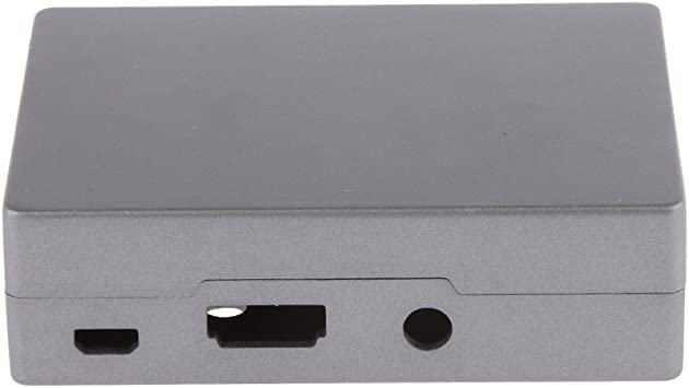 Caja Envolvente Metálica Para Raspberry Pi B+ / Frambuesa Pi 2 / Pi 3 Color Plata: Amazon.es: Electrónica
