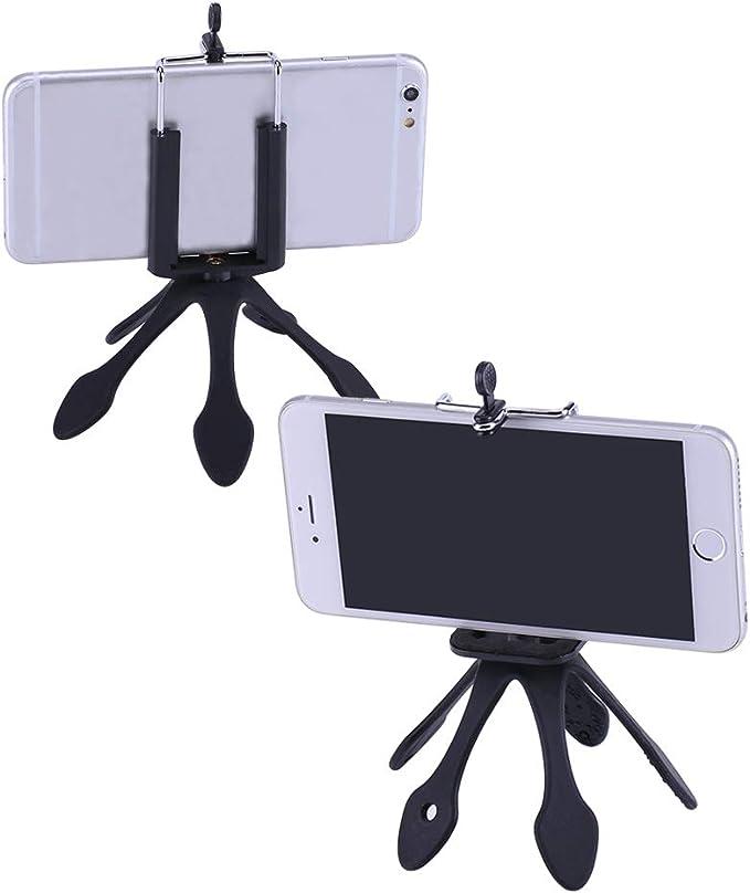 Soporte Fexible y Portátil Mini Trípode para Celulares Gopro SJ ...