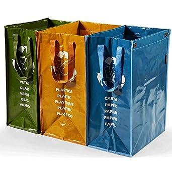 Propac z-bd3 Kit 3 Bolsos reciclaje: Amazon.es: Industria ...