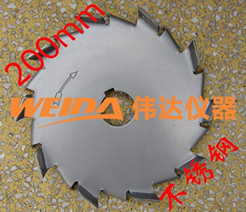 Pumps 304 stainless steel 200 mm 230mm 280 mm dispersing disc dispersing wheel dispersing blade dispersing disc ()