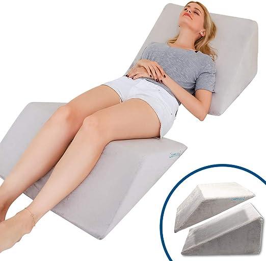 Orthopedic Cushion for Knee Comfort Pillow Bed Sleeping Separate Rear Leg Nerve