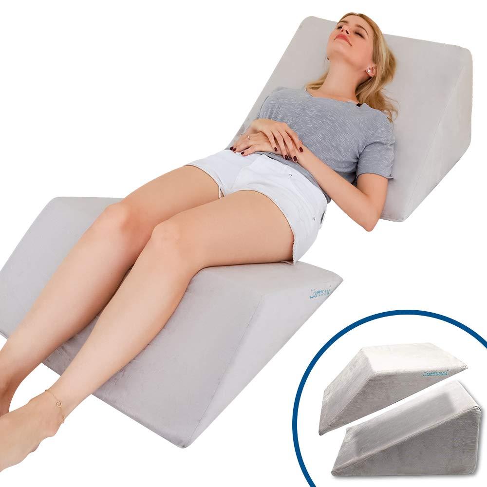 Lisenwood Foam Bed Wedge Pillow Set