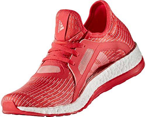 rood hardloopschoenen dames X Pureboost voor Adidas w7A6qn
