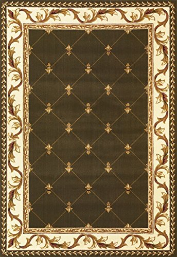 KAS Oriental Rugs Corinthian Collection Fleur-De-Lis Area Rug, 5'3