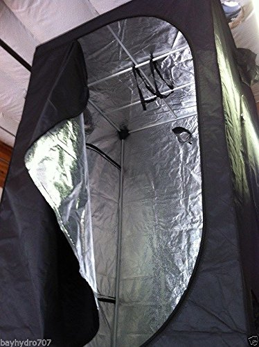 BAY HYDRO 4 x 4 x 6.5 Grow Tent Indoor Garden HIGHEST QUALITY by Bay Hydro