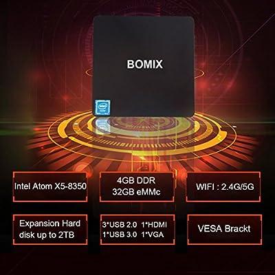 Amazon com: Mini PC, T11 Windows 10 Fanless Desktop Computer 4GB Ram