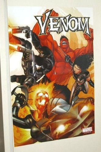 Venom/Red Hulk/Ghost Rider Marvel Universe comic book shop promotional promo poster feet
