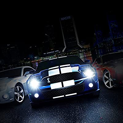 RCP - D2R8 - (A Pair) D2R 8000K Xenon HID Replacement Bulb Factory Ice Blue Metal Stents Base 12V Car Headlight Lamps Head Lights 35W: Automotive