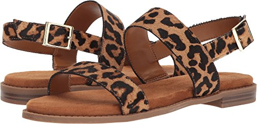 Franco Sarto Women's VELOCITY2 Flat Sandal, Camel, 8.5 M US from Franco Sarto