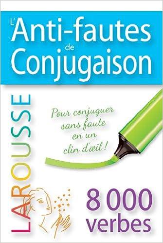 Livres gratuits en ligne L'anti-fautes de conjugaison pdf ebook