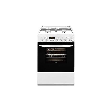 Faure FCM656HPWA - Cocina (Cocina independiente, Blanco, Botones ...