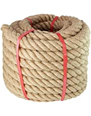 Manila Rope, for Landscaping, Crafts, Sporting,Marine, Projects and Tie-Downs