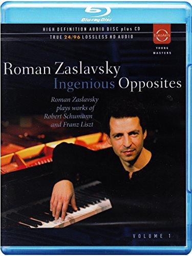 Roman Zaslavsky - Ingenious Opposites 1 (With CD, 2PC)