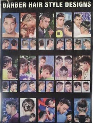 Hair cut Design Poster