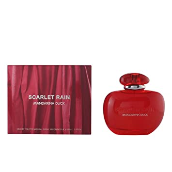 Amazon.com : Mandarina Duck Scarlet Rain Eau De Toilette Spray for Women, 3.4 Ounce : Beauty