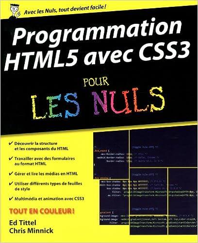 Lire un Programmation HTML5 avec CSS3 Pour les Nuls pdf, epub
