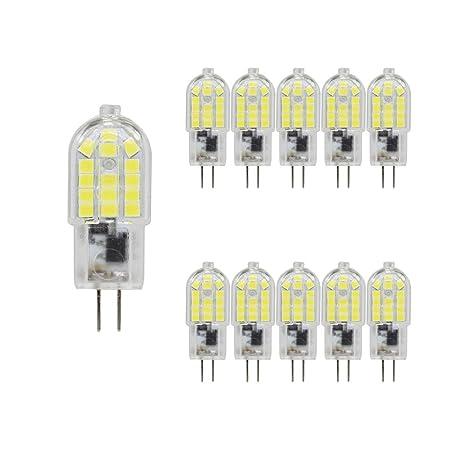 Bombillas LED G4 de 3 W, equivalentes a 30 W, halógenas, focos de