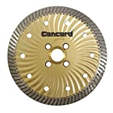 Concord Blades CBN050A10HP 5 Inch Granite and Marble Narrow-Turbo Wave Diamond Blade