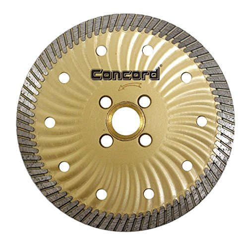 Concord Blades CBN050A10CP 5 Inch Granite and Marble Narrow-Turbo Wave Diamond Blade