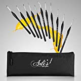 Detail Paint Brushes Variety Set of 11 Artist