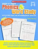 Week-by-Week Phonics & Word Study Activities for the - Best Reviews Guide