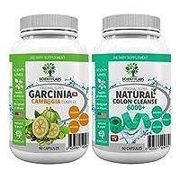 SUPERPACK! - Garcinia Cambogia Complex + Detox colon cleanse 6000+. US Original von ScientyLabs mit Garcinia Cambogia Multikomplex + aktuell stärkster SL colon cleanser