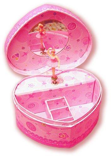 Amazoncom Kids Ballerina Dancing Musical Jewelry Box Pecoware