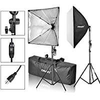 Emart Softbox Photography Video Studio Equipment Lighting Kit, 900 Watt Continuous Photo Portrait Light System, 24 x 24 Softboxes