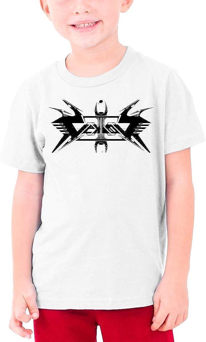 HAPPYHAPPYHAPPY Vektor Band Boys Girls Short Sleeve T-Shirt White