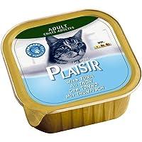 Plaisir Cats Pate Rich in Tuna Alu-Tray 100g, Sky Blue, 05224