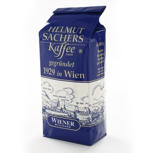 Helmut Sachers Viennese Blend Whole Bean Coffee (1 - Roast Viennese