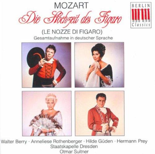 Wolfgang Amadeus Mozart: Nozze di Figaro (Le) [The Marriage of Figaro] [Opera] [Suitner]