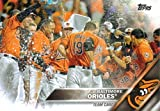 Baltimore Orioles 2016 Topps MLB Baseball Regular Issue Complete 24 Card Team Set with Manny Machado, Chris Davis Plus